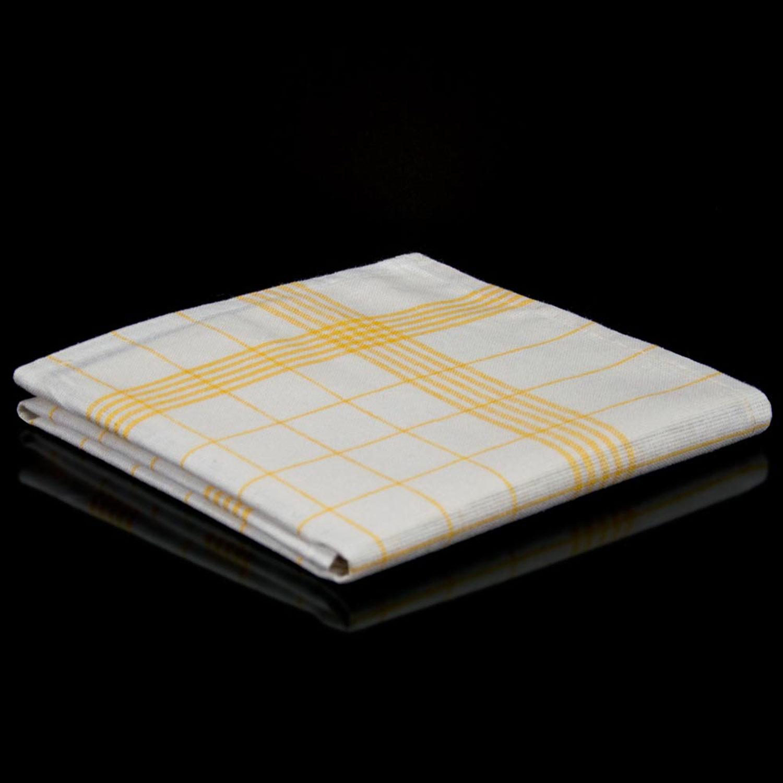 200 geschirrt cher halbleinen gelb 50 x 70 cm gelbes. Black Bedroom Furniture Sets. Home Design Ideas