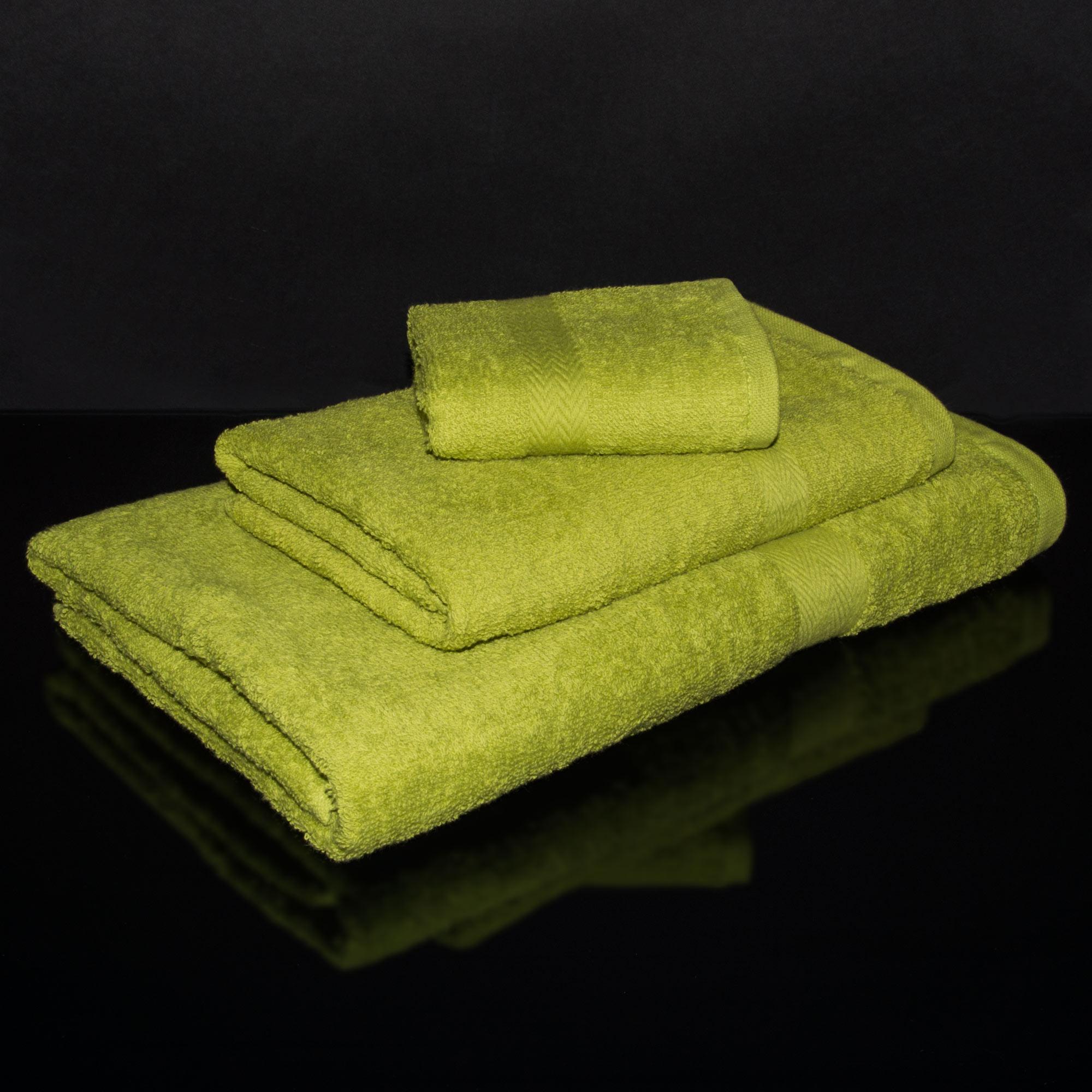 12 teiliges handt cher set apfelgr n 4x handtuch 4x. Black Bedroom Furniture Sets. Home Design Ideas