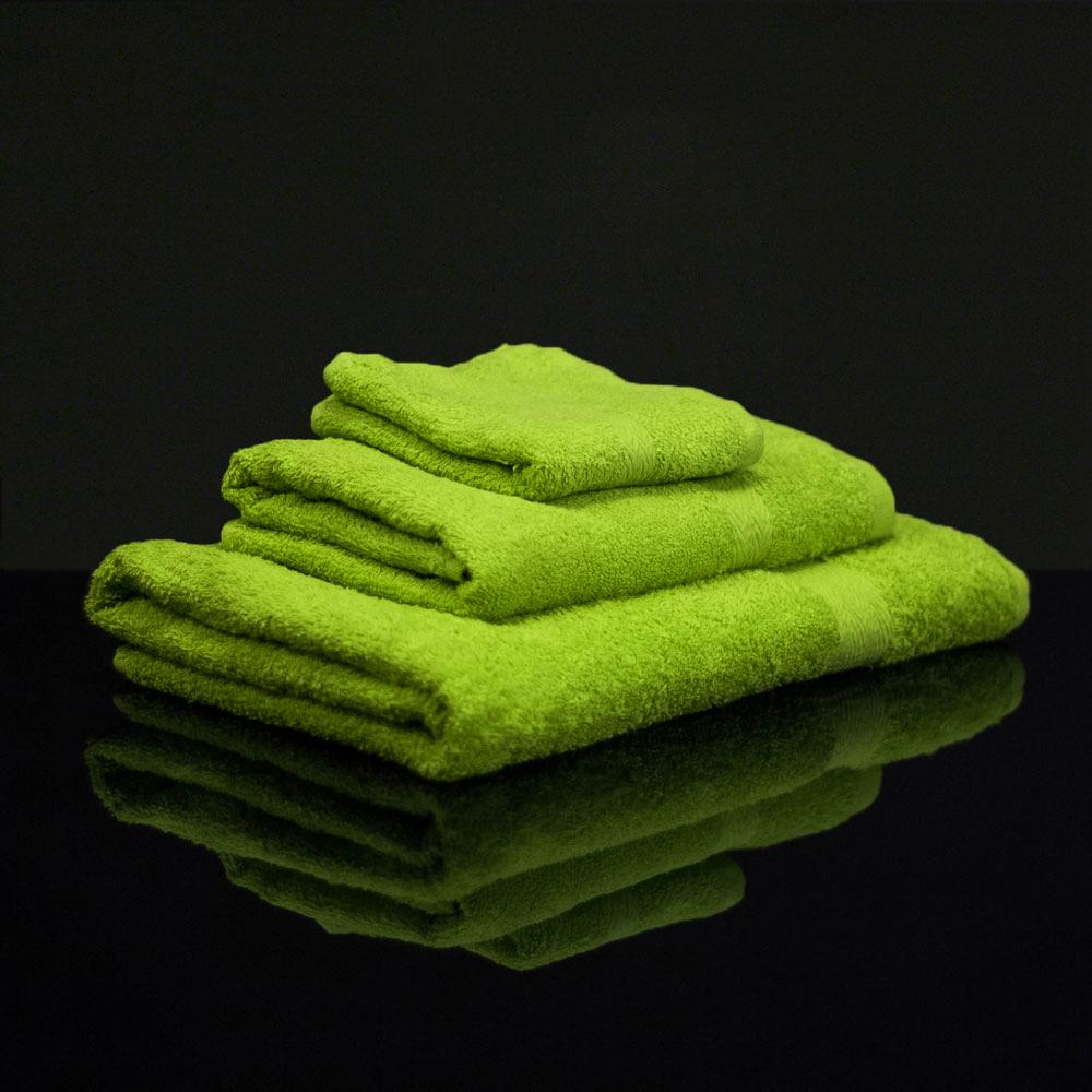 10 gr ne handt cher billig handtuch gr n 50x100 cm g nstig tuch 400g qm ebay. Black Bedroom Furniture Sets. Home Design Ideas